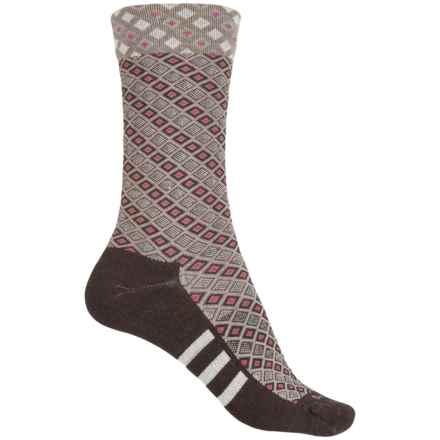 Sockwell The Avenue Socks - Merino Wool, Crew (For Women) in Espresso - Closeouts