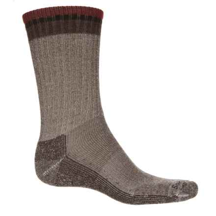 Sockwell Tipped Off Rugged Socks - Merino Wool, Crew (For Men) in Brown - Closeouts