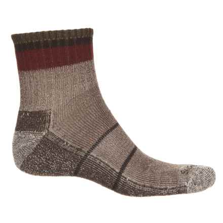 Sockwell Tipped Off Rugged Socks - Merino Wool, Quarter Crew (For Men) in Brown - Closeouts