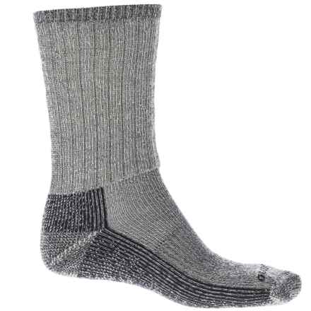 Sockwell Trekker Hiking Socks - Merino Wool Blend, Crew (For Men and Women) in Charcoal - Closeouts