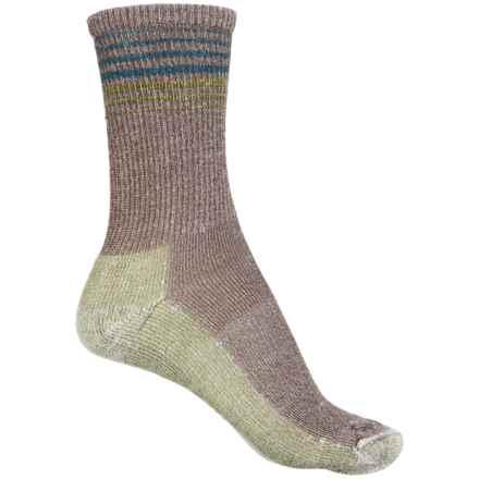 Sockwell Wanderlust Socks - Merino Wool, Crew (For Women) in Brown - 2nds
