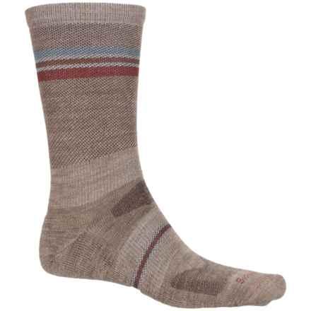 Sockwell Whip Stitch Socks - Merino Wool, Crew (For Men) in Khaki - Closeouts