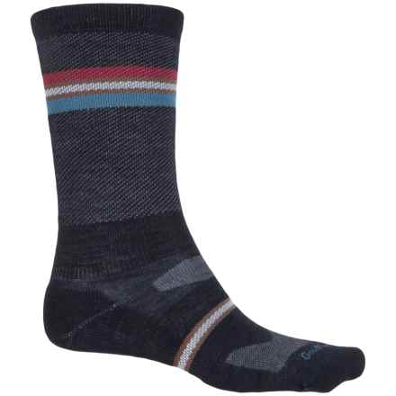 Sockwell Whip Stitch Socks - Merino Wool, Crew (For Men) in Navy - Closeouts