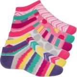Sof Sole All Sport Lite No-Show Printed Sock - 6-Pack, Below the Ankle (For Little and Big Kids)
