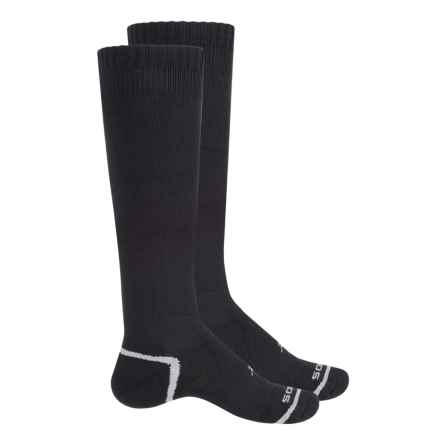 Sof Sole All Sport Select Socks - 2-Pack, Over the Calf (For Little and Big Kids) in Black - Closeouts
