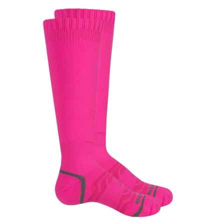 Sof Sole All Sport Select Socks - 2-Pack, Over the Calf (For Little and Big Kids) in Flourecent Pink - Closeouts