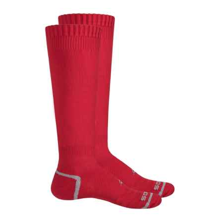 Sof Sole All Sport Select Socks - 2-Pack, Over the Calf (For Little and Big Kids) in Sport Red - Closeouts