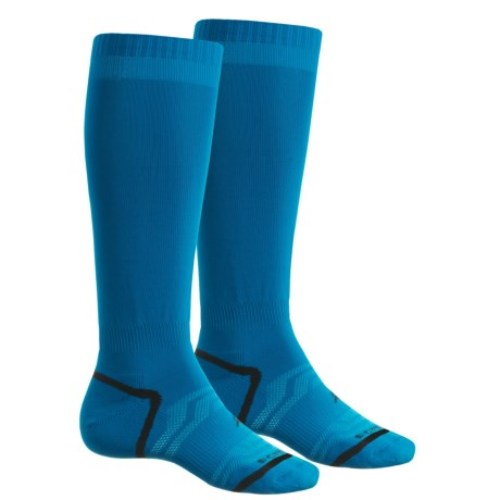 Sof Sole All-Sport Select Socks - 2-Pack, Over the Calf (For Men and Women) in Blue
