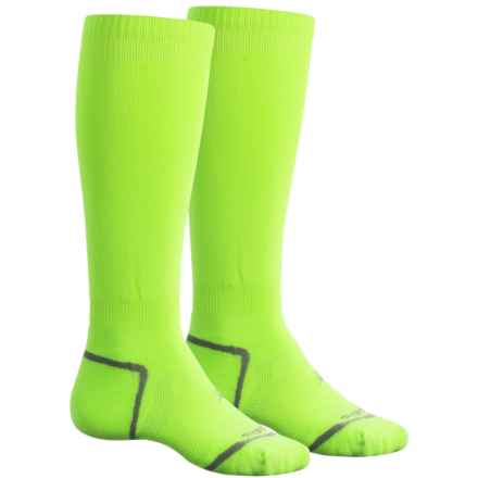Sof Sole All-Sport Select Socks - 2-Pack, Over the Calf (For Men and Women) in Florecent Yellow - Closeouts