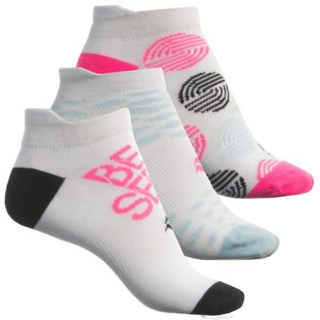 Sof Sole Multi-Sport Lite Tab Socks - 3-Pack, Below the Ankle (For Women) in White