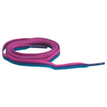 "Sof Sole Rainbow Flat Shoe Laces - 45"" in Pink/Purple/Blue - Closeouts"
