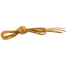 """Sof Sole Round Hiker Boot Laces - 72"""" in Brown/Gold - Closeouts"""