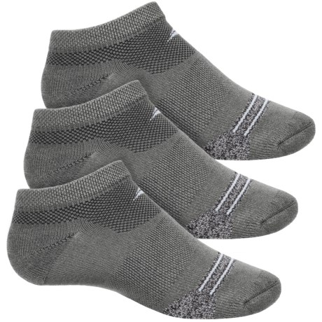 Sof Sole Selective Cushion Socks - 3-Pack, Below the Ankle (For Little and Big Kids) in Stripe Grey Heather