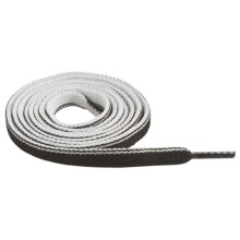 "Sof Sole Two Tone Flat Shoe Laces - 45"" in Black/White - Closeouts"