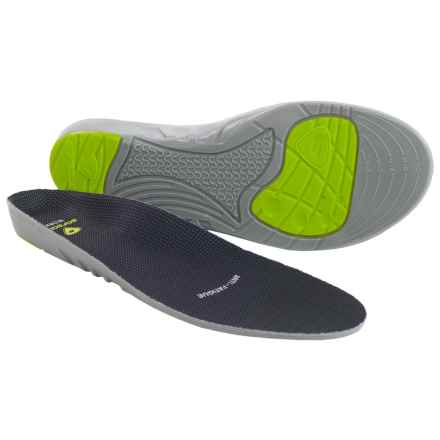 Sof Sole Work Insoles (For Women) in Green/Grey - Closeouts
