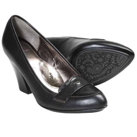 Sofft Abena Pumps - Leather (For Women) in Black