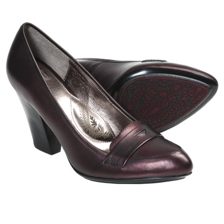 Sofft Abena Pumps - Leather (For Women) in Red