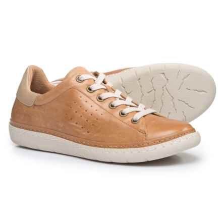 Sofft Arianna Sneakers - Leather (For Women) in Whiskey - Closeouts