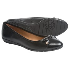 Sofft Becka Ballet Flats - Leather (For Women) in Black Sheep Nappa - Closeouts