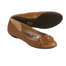Sofft Botija Shoes - Flats, Leather (For Women) in Luggage Tan - Closeouts
