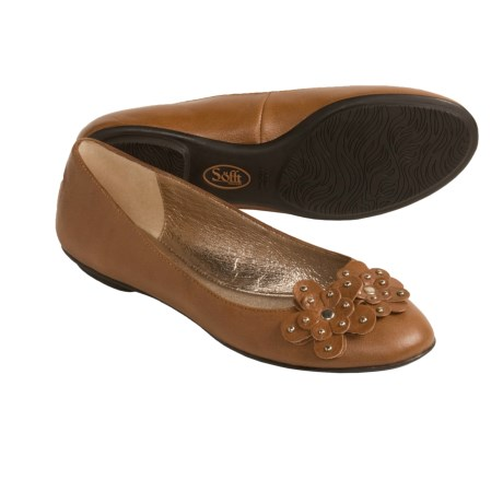 Sofft Botija Shoes - Flats, Leather (For Women) in Black