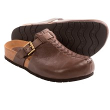 Sofft Branwen Clogs - Leather (For Women) in Brown - Closeouts