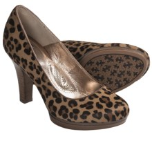 Sofft Broadway Classic Pumps (For Women) in Leopard Horse Hair - Closeouts