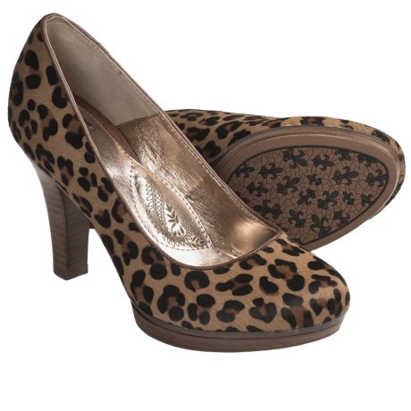 Sofft Broadway Classic Pumps (For Women) in Leopard Horse Hair