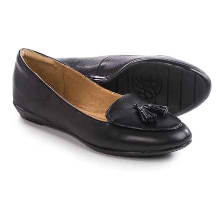 Sofft Bryce Shoes - Leather, Slip-Ons (For Women) in Black - Closeouts