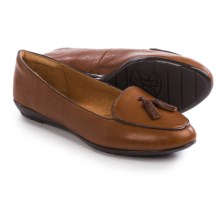 Sofft Bryce Shoes - Leather, Slip-Ons (For Women) in Whiskey Tan - Closeouts