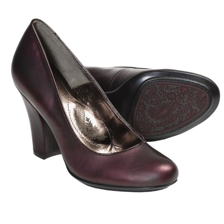Sofft Fiorentina Pumps - Leather (For Women) in Mocha Brown Suede