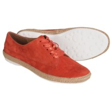 Sofft Mavis Sneakers - Suede (For Women) in Bright Pink Suede - Closeouts