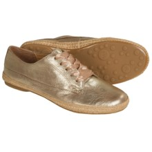 Sofft Mavis Sneakers - Suede (For Women) in Satin Gold - Closeouts