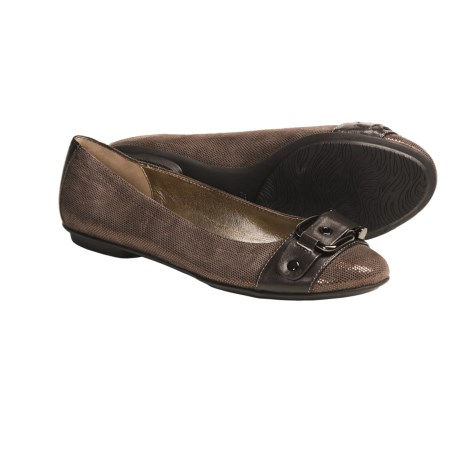 Sofft Mytalini Ballet Flats - Leather (For Women) in Copper