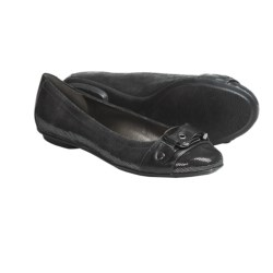 Sofft Mytalini Ballet Flats - Leather (For Women) in Gun Metal
