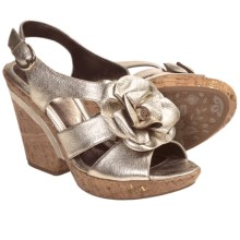 Sofft Odelle Wedge Sandals (For Women) in Gold - Closeouts