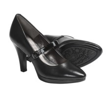 Sofft Rieta Mary Jane Platform Shoes - Leather (For Women) in Black - Closeouts