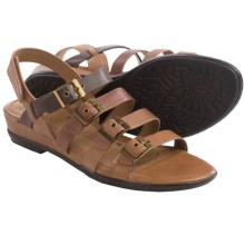 Sofft Sapphire Leather Sandals (For Women) in Brown Multi - Closeouts