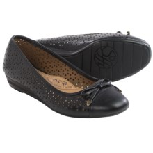 Sofft Selima II Ballet Flats - Leather (For Women) in Black - Closeouts