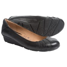 Sofft Vanna Leather Flats (For Women) in Black - Closeouts