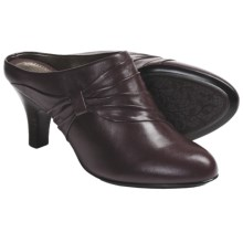 Sofft Varese Slide Shoes - Leather (For Women) in Chianti - Closeouts