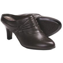 Sofft Varese Slide Shoes - Leather (For Women) in Coffee - Closeouts