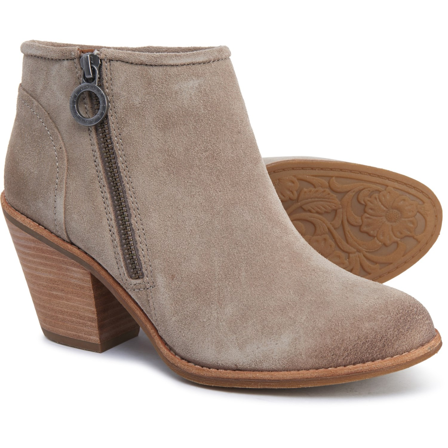 Sofft Walker Ankle Boots Suede (For Women)