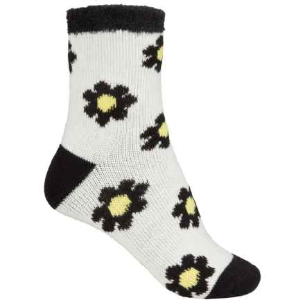 Sofsole Fireside Socks - Crew (For Women) in Floral Pristine - Closeouts