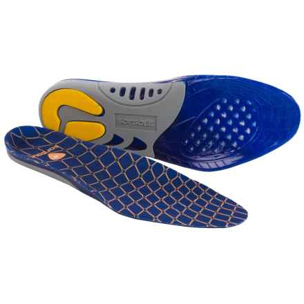 Sofsole Gel Support Insoles (For Men) in Blue - Closeouts