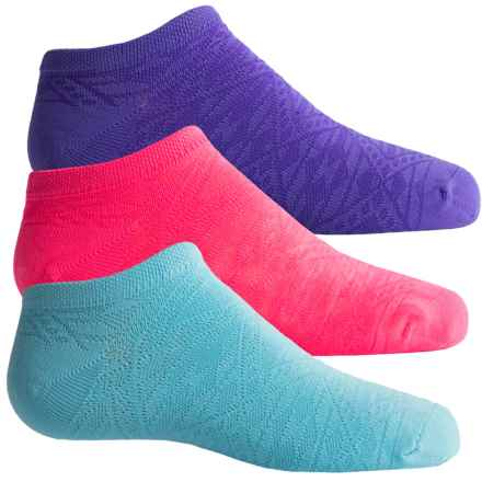 Sofsole Multi-Sport Lite Socks - 3-Pack, Below the Ankle (For Women) in Tribal - Closeouts