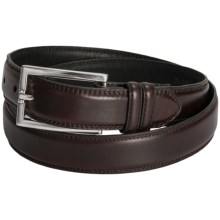 Soft Collection by Bill Lavin Moreccio Belt - Leather (For Men) in Brown - Closeouts