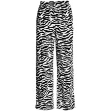 Soft Lounge Bottoms (For Women) in Zebra - 2nds