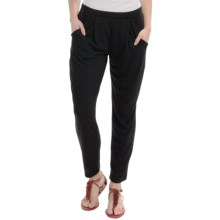 Soft Stretch Pants - Viscose Blend (For Women) in Black - 2nds