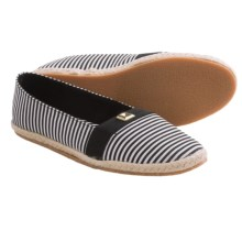 Soft Style Hillary Shoes - Slip-Ons (For Women) in Black/White - Closeouts